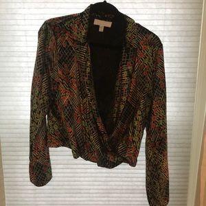 Gorgeous velour Anthropologie blazer!